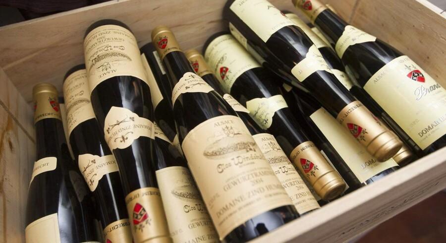 Priserne på vin kan stige ganske pænt i det nye år, mener engelske vinfirma.