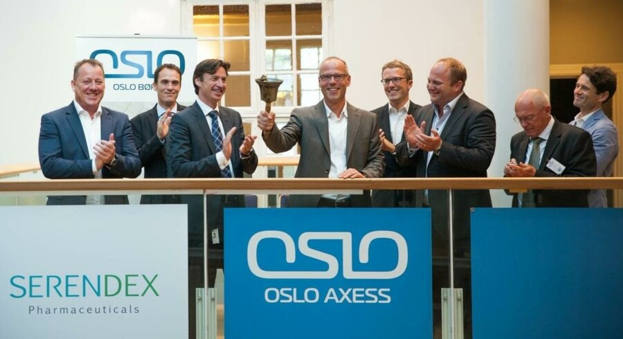Serendex gik på børsen den 11. juli, da direktør Kim Arvid Nielsen ringede med klokken.