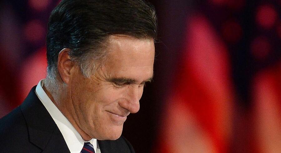 Mitt Romney efter at have tabt præsidentvalget til Barack Obama 2012