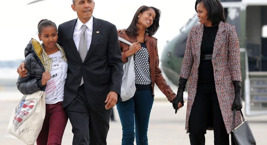 Familien Obama har været i rampelyset længe som følge af den massive valgkamp forud for Barack Obamas genvalg. Nu er tiden endelig kommet til at vende tilbage til deres hjem i Det Hvide Hus i Washington DC.