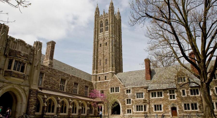 Studiet bliver ofte forsinket med et halvt til et helt år, når studerende følger regeringens råd om at tage en del af deres uddannelse væk fra de danske universiteter. På billedet ses Princeton University.
