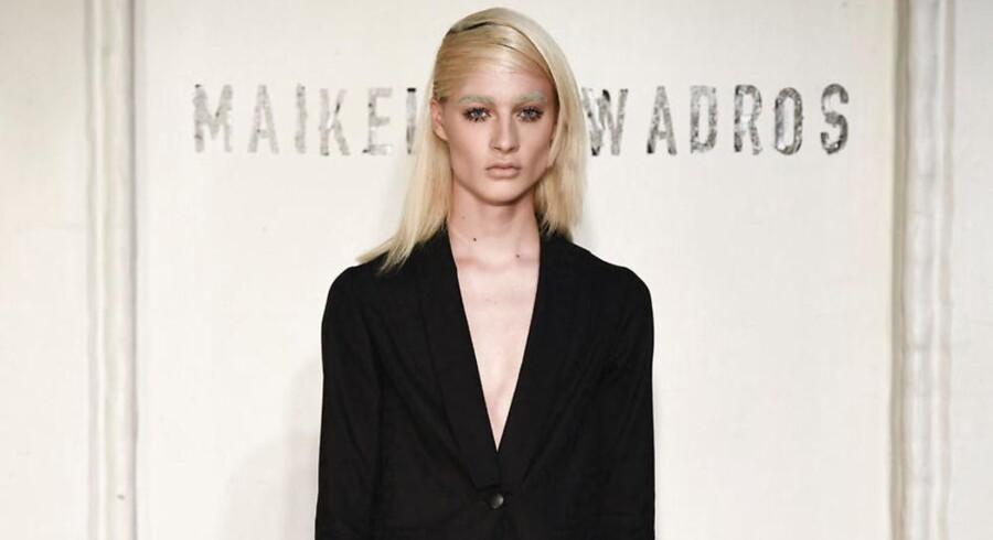 Tawadros havde lavet et show, der tog udgangspunkt i frygt som tema. Foto: Copenhagen Fashion Week.