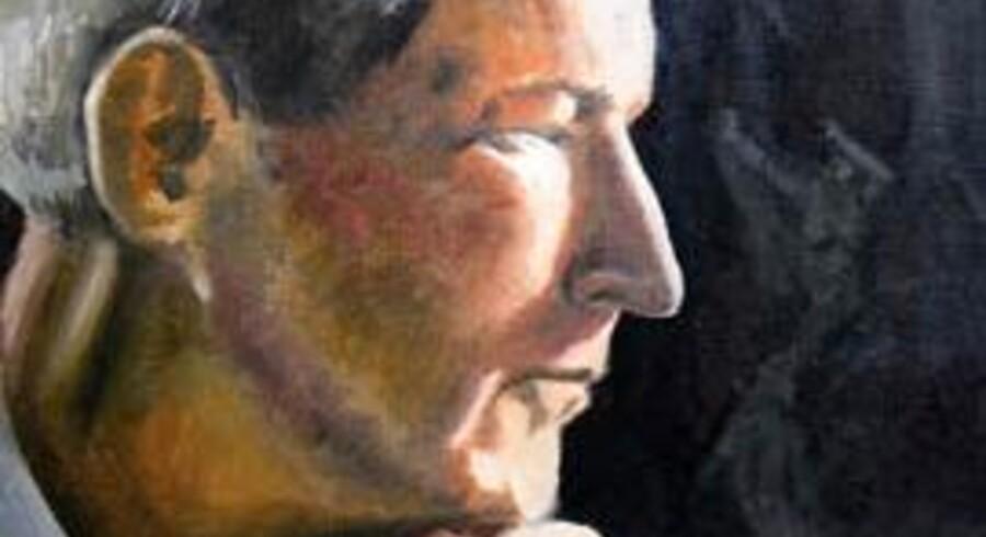 Maleri af Jacques Barzun, da han er i 40erne.