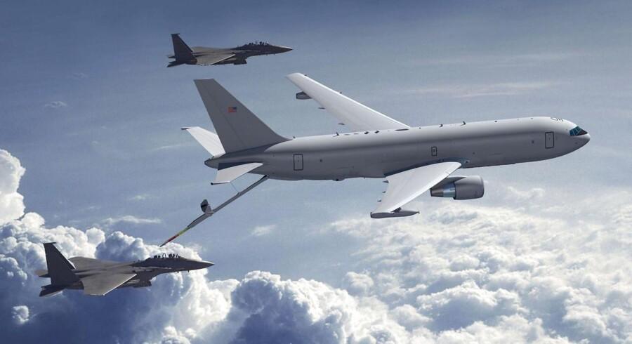 Ordrebogen for Boeing lød ved udgangen af kvartalet på 440 mia. dollar.