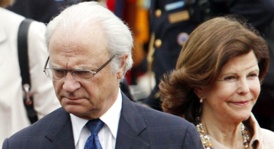 Sveriges Kong Carl XVI Gustaf og dronning Silvia.