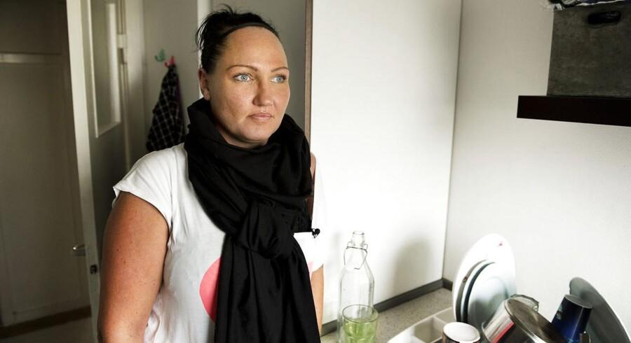 Christel Ravn, hvis datter blev kontaktet af en mand på 38 år gennem Arto.