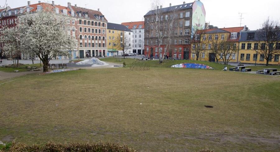 Folkets park på Nørrebro.
