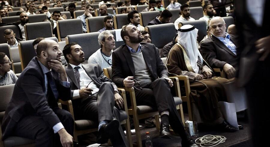 Hizb ut-Tahrir afholder deres årlige konference i Bella Center. Her talere og deltagere på konferencen.