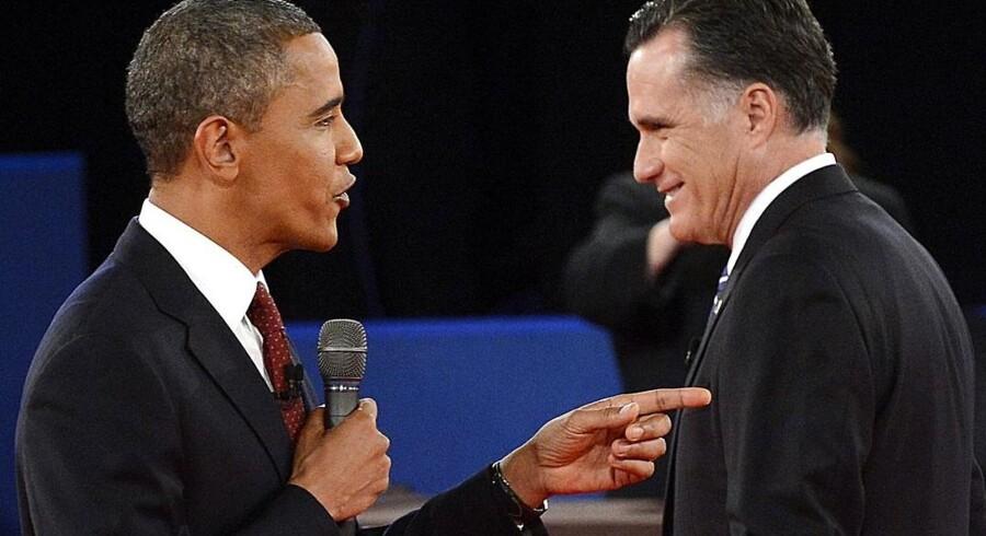 Der var mange seere til den anden duel mellem de to præsidentkandidater.