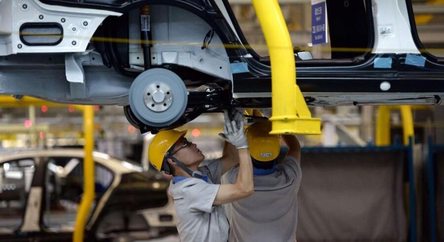 Volkswagen har investeret 15 mia. i fabrikker i Kina