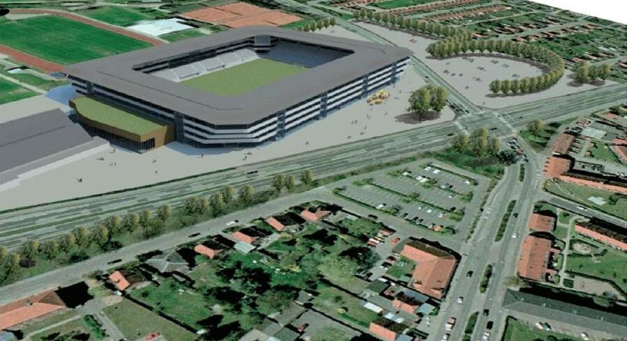 Stort østsjællandsk stadion- og erhvervsprojekt rykker nogle skridt nærmere, men væltet borgmester frygter lidt for store armbevægelser.