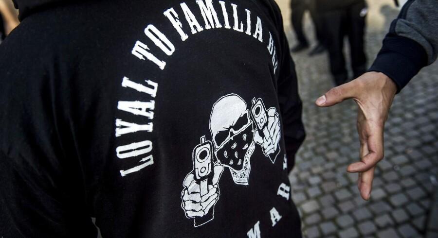 Et medlem af banden Loyal to Familia (LTF) er blevet sigtet for at være en del af et netværk, der handler med kokain. Arkivfoto.