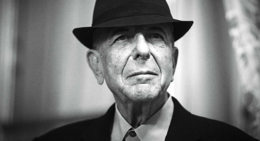 Leonard Cohen giver koncert lørdag aften i Odense.