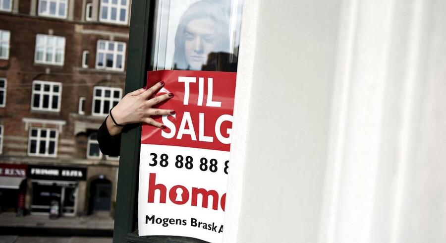 Priserne på ejerlejligheder er faldet med 1,1 procent på landsplan fra august til oktober, viser nye tal fra Danmarks Statistik. Arkivfoto: Mathias Bojesen/Scanpix 2017
