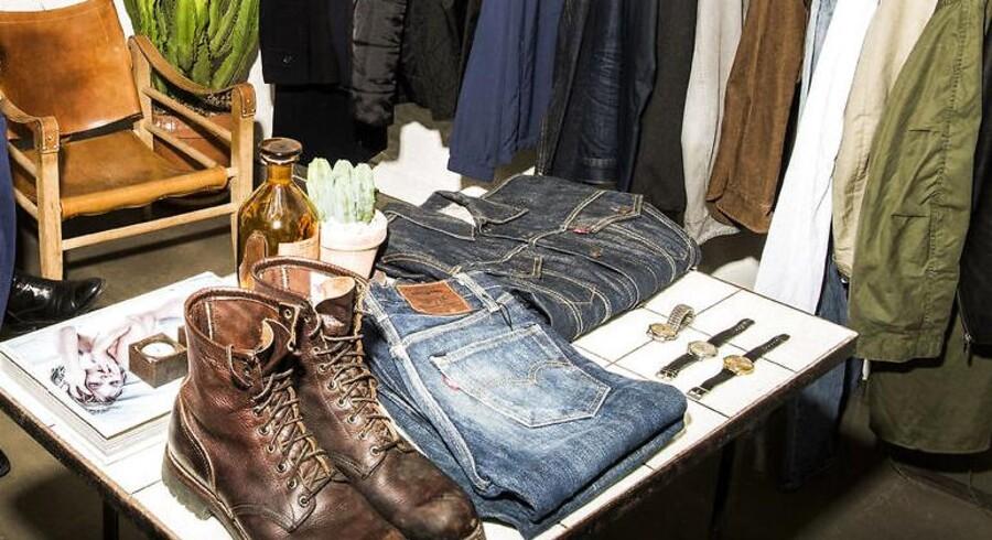 Arkivfoto: Tøjbutikken P-A-R på Jægersborggade i København. Danskerne køber genbrug som aldrig før - særligt på nettet.