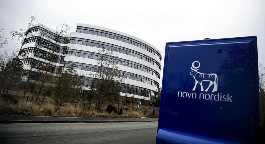 ARKIV. Novo Nordisk i Bagsværd fra 2017.