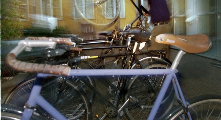 Arkivfoto. Natten til fredag blev cirka 31 cykler stjålet på højst usædvanlig vis fra en cykelforretning i Herning.