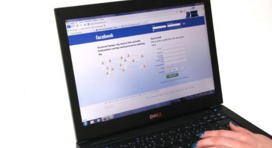 Facebook bruges af stadig flere arbejdsgivere til at danne sig et bedre indtryk af kandidater til ledige stillinger. Free/Colourbox
