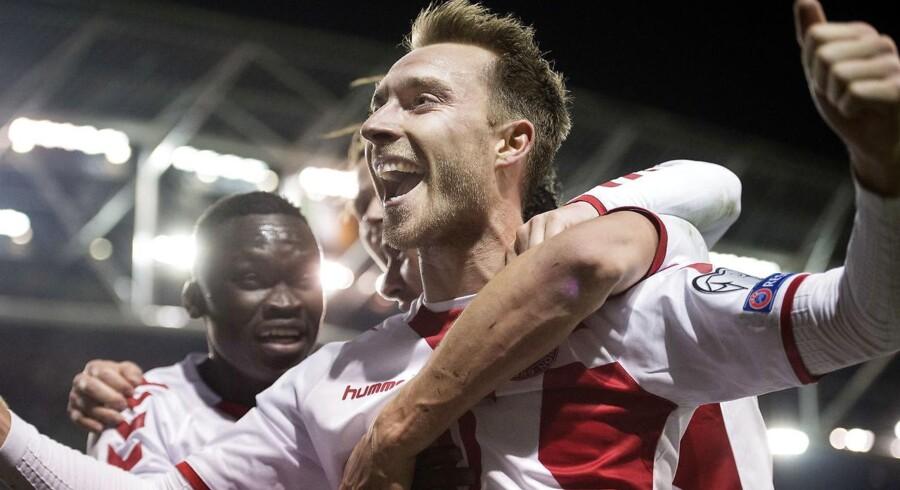 Christian Eriksen og det danske fodboldlandshold sikrede tirsdag billet til VM i Rusland, men hvor gode chancer holdet får for at avancere fra den indledende VM-gruppe, afgøres i høj grad af lodtrækningen, der finder sted 1. december.