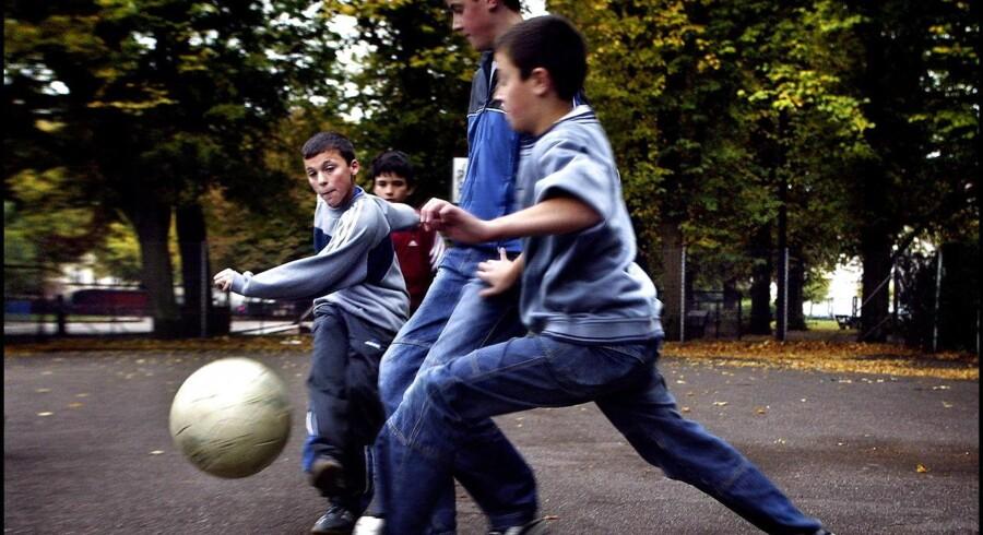 Arkivfoto. Fodboldklubben Nørrebro United valgte sidste fredag at flytte en turneringskamp fra hjemmebanen på Nørrebro til Østerbro.