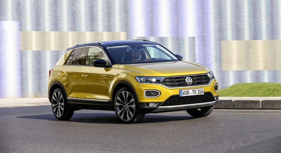 SUV'erne ligger i februar måned side om side med minibilerne som de største segmenter målt på salg af nye personbiler, og en model som den nye Volkswagen T-Roc er ved at vinde indpas på markedet