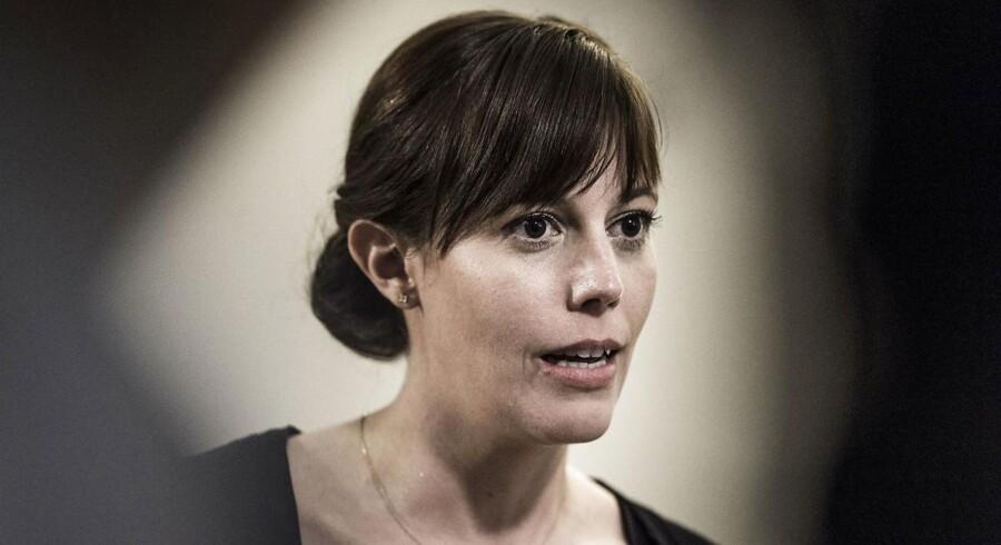 Den konservative børne- og socialminister Mai Mercado vil sætte ind med en tidligere indsats over for børn, der vokser op hos alkoholiske forældre (Foto: Thomas Lekfeldt/Scanpix 2017)