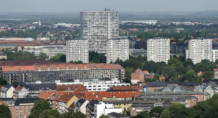 Lejligheder blev ifølge Danmarks Statistik 3,2 procent dyrere i april