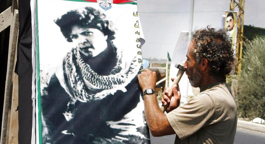 Dalal al-Mughrabi, som har lagt navn til et ungdomscenter i Palæstina, ledede i 1978 et angreb på en bus, der kostede 37 israelere livet. Foto: AFP/RAMZI HAIDAR