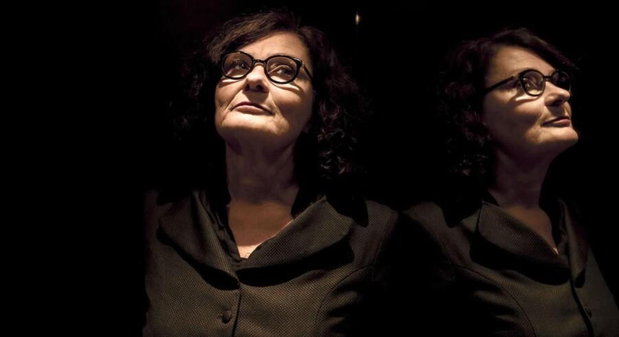 Den svenske forfatter og feminist Ebba Witt-Brattström fotograferet i forbindelse med lanceringen af sin nyeste bog »Århundredets kærlighedskrig«.