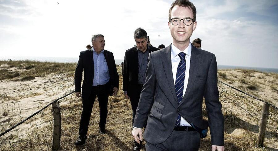 Miljø- og fødevareministeren Esben Lunde Larsen.