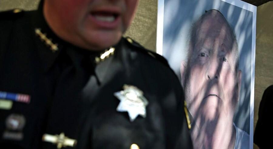 En tidligere betjent mistænkes for at stå bag 12 drab og 45 voldtægter i Californien i 1970'erne og 1980'erne. Justin Sullivan/Getty Images/AFP