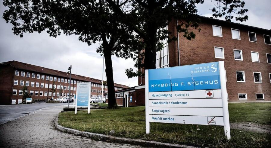 Arkivfoto: Nykøbing Falster Sygehus.