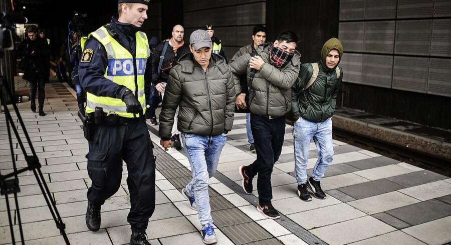 Sverige forbereder masseudvisning af afviste asylsøgere. Op mod 80.000 mennesker, der får afslag på asyl i Sverige, skal udvises.