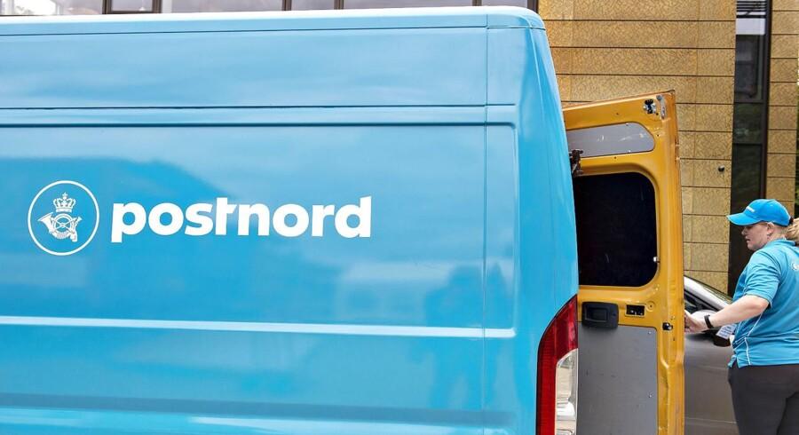 Det står grelt til med Postnords økonomi, og det har fået det til at lukke ned for fødevareudbringning.(Foto: Henning Bagger/Scanpix 2017)