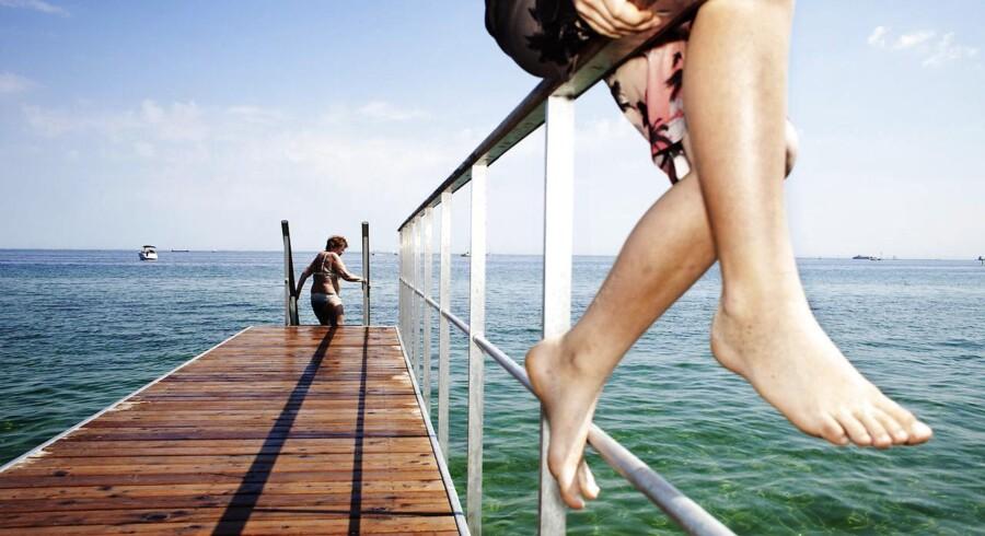 I begyndelse af næste uge bliver det solrigt og op til 25 grader varmt dele af landet. Endelig kan solhungrende danskere søge mod strandene igen. (Arkivfoto)