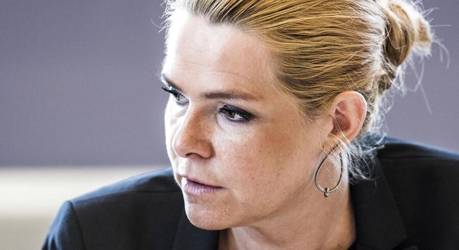 Integrationsminister Inger Støjberg (V)