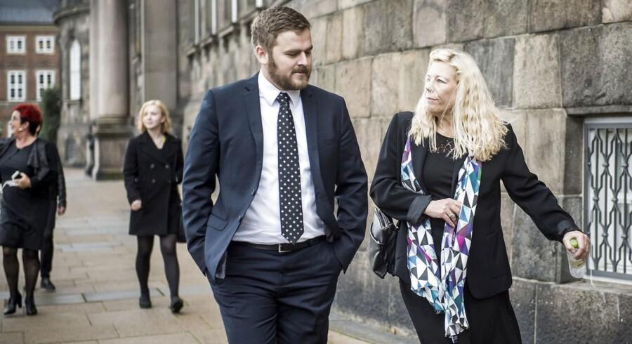 Arkivfoto: Jeppe Jakobsen og Lise Bech fra Dansk Folkeparti.