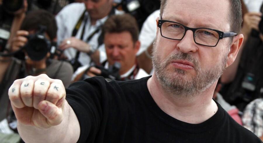 Filminstruktør Lars von Trier under filmfeestivalen i Cannes i 2011, hvor han endte med at blive erklæret persona non grata på grund af nogle kommentarer om nazisterne.