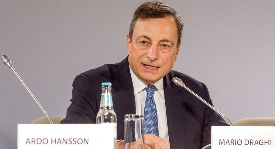 Den Europæiske Centralbanks Mario Draghi.