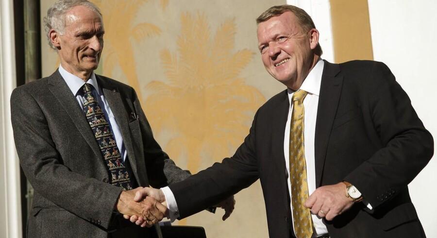 I oktober var Lars Løkke Rasmussen med til at fejre Bertel Haarder som den nyere histories længst siddende minister. I dag er det indbyrdes forhold kølnet betragteligt.