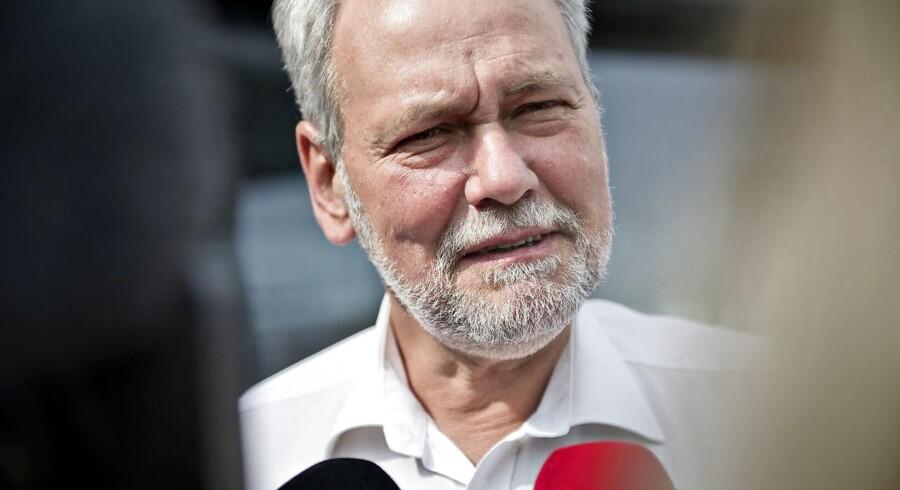 Arkivfoto. FOAs formand, Dennis Kristensen.