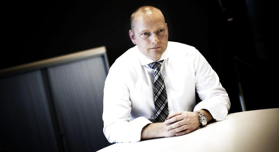 Søren Abildgaard rykker op i Telia-koncernen og overdrager den danske forretning til hidtidig erhvervsdirektør Morten Bentzen. Arkivfoto: Jeppe Bjørn Vejlø, Scanpix