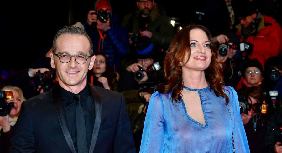 Tysklands nye udenrigsminister Heiko Maas og hans skuespillerkone Natalia Wörner er kendt som flittige premiergæster. Nu skal Maas repræsentere tyske interesser på den internationale scene.