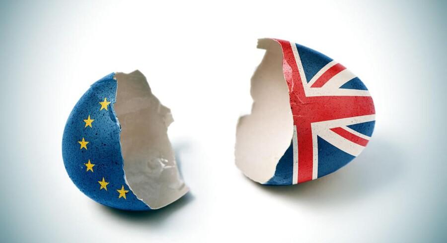 Den britiske regerings længe efterspurgte køreplan for udtrædelsen af EU er endelig fremlagt. Nu skal den forhandles med EU. Arkivfoto: Iris/Scanpix