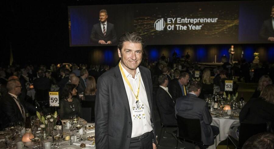 Entrepreneur of the Year 2017 i Forum. En af vinderne: Netcompany. Direktør André Rogaczewski. Foto: Asger Ladefoged