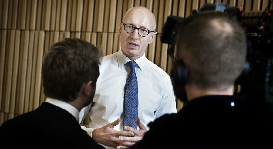 ARKIVFOTO Novo Nordisk's administrerende direktør Lars Fruergaard Jørgensen.