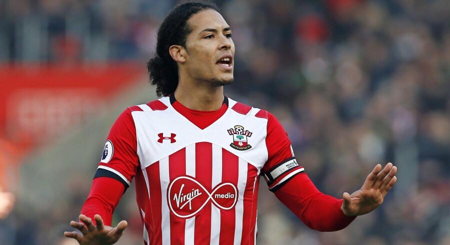 Liverpool-ledelsen er alligevel ikke interesseret i Southamptons Virgil van Dijk. Eller er den? Foto: Paul Childs/Reuters