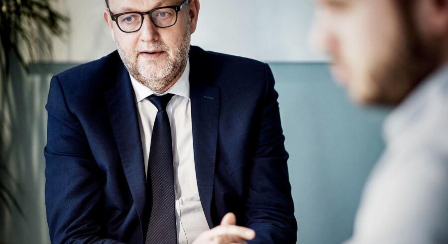 Arkivfoto: Lars Christian Lilleholt (V) vil lukke lovhul, der betyder, at ejere af fjernvarmeværker kan trække penge ud.
