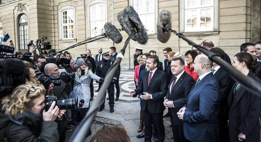 Arkivfoto. Folketingets to største partier ser ingen grund til at sænke antallet af offentlige ansatte, siger partierne.
