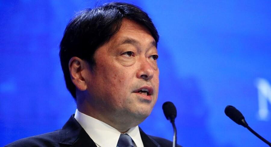 Arkivfoto: Japans forsvarsminister, Itsunori Onodera, appellerer i en indtrængende erklæring det internationale samfund om at opretholde sanktioner og overvågning af Nordkorea, fordi landet gennem historien har brudt og svigtet mange aftaler.